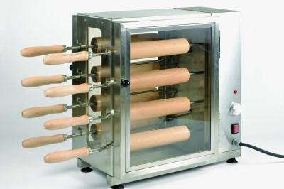 Elektromos kürtöskalács sütő